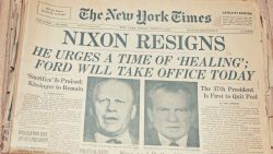 Watergate Newspaper