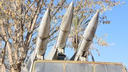 White military missiles