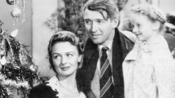Scene from the movie It's a Wonderful Life