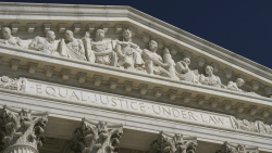 The US Supreme Court Building in Washington, DC