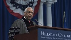 Justice Thomas at Commencement